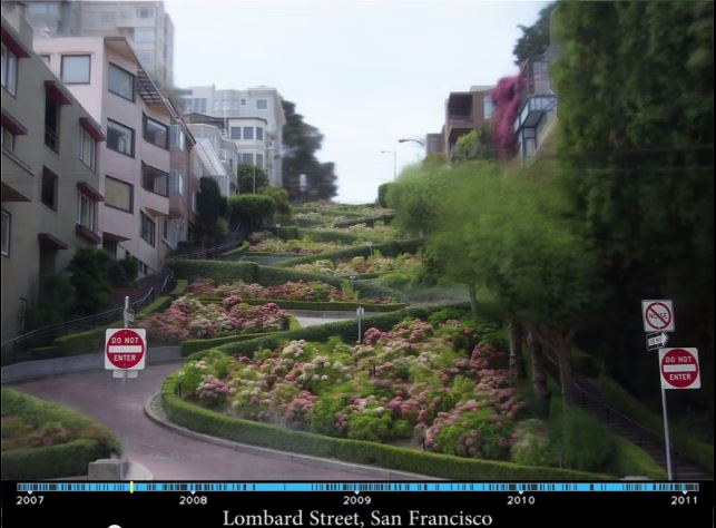 Amazing Time Lapse Videos Made From Tourist Photos Online
