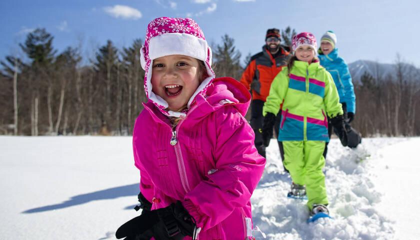 Best Snowshoe Destinations for Families