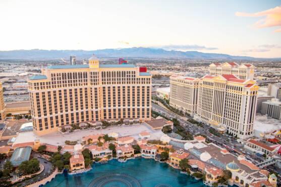 Las Vegas and Shopping at Bellagio