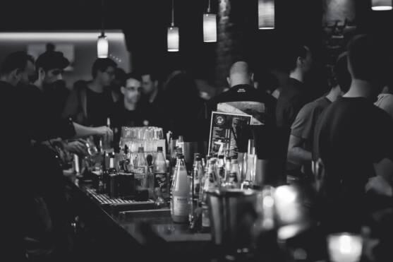 Crowded Gay Bar