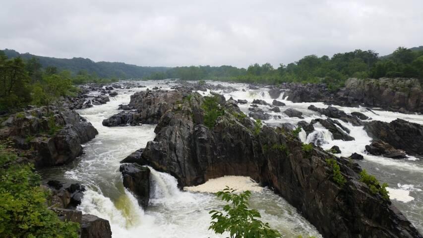 Potomac River Map