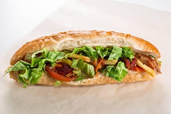 Verti Marte Po'Boy Sandwich